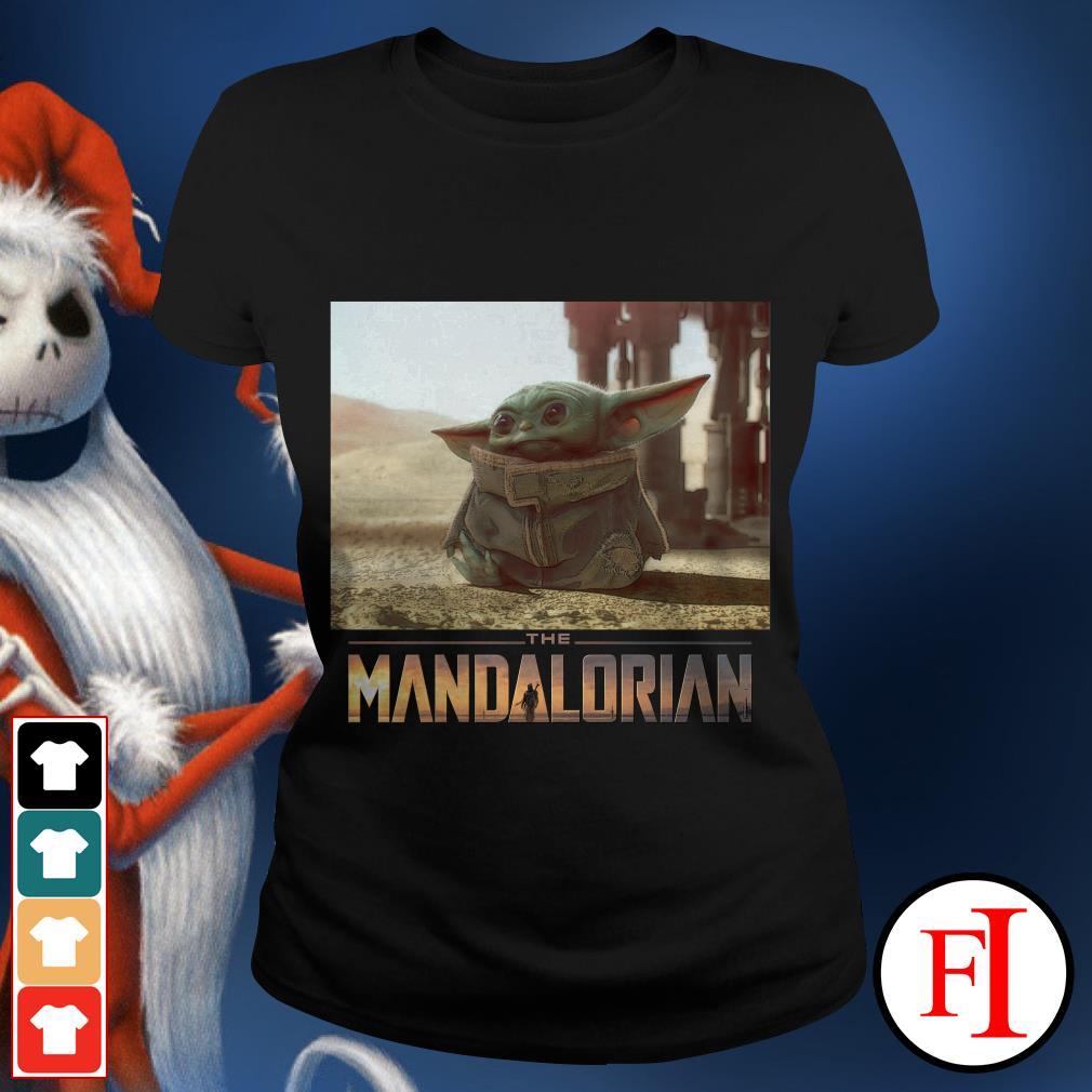 I am Adore me you must The Mandalorian Baby Yoda Cute Ladies tee