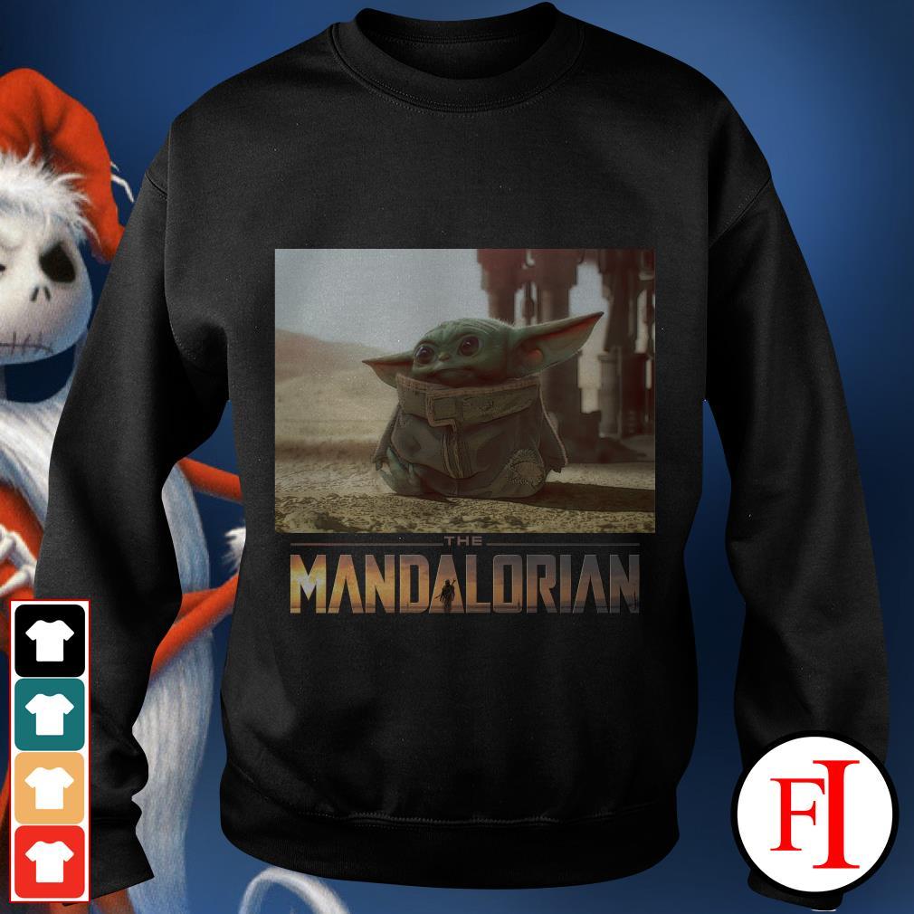 I am Adore me you must The Mandalorian Baby Yoda Cute Sweater