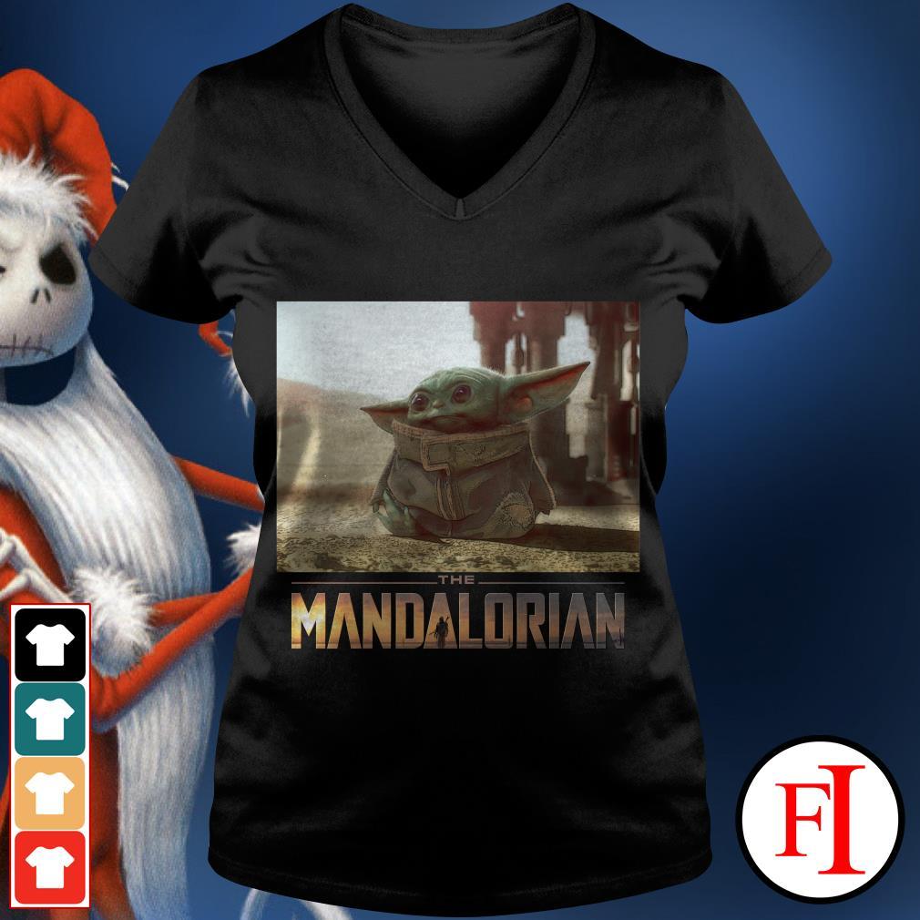 I am Adore me you must The Mandalorian Baby Yoda Cute V-neck t-shirt