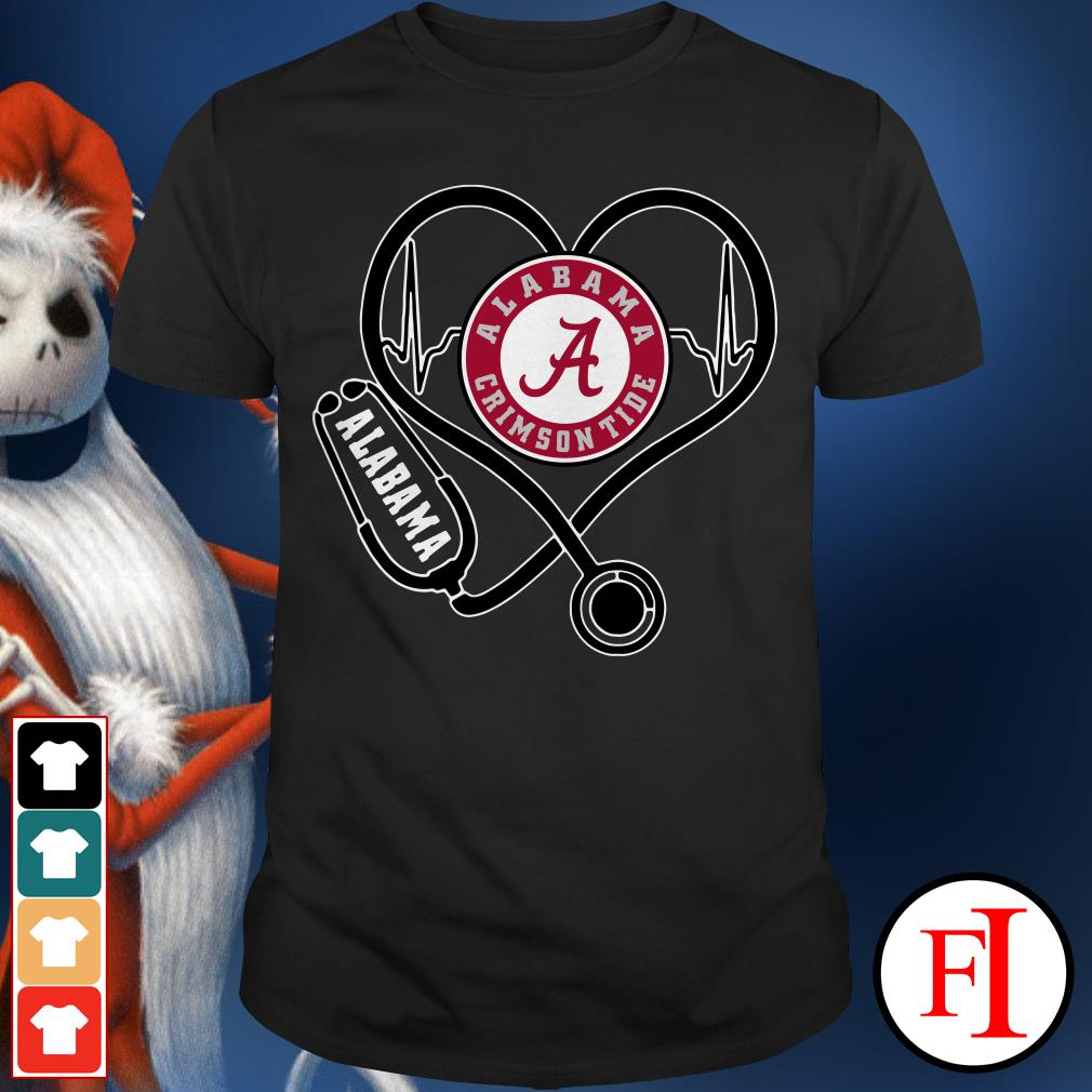 Alabama Crimson Tide Stethoscope Shirt