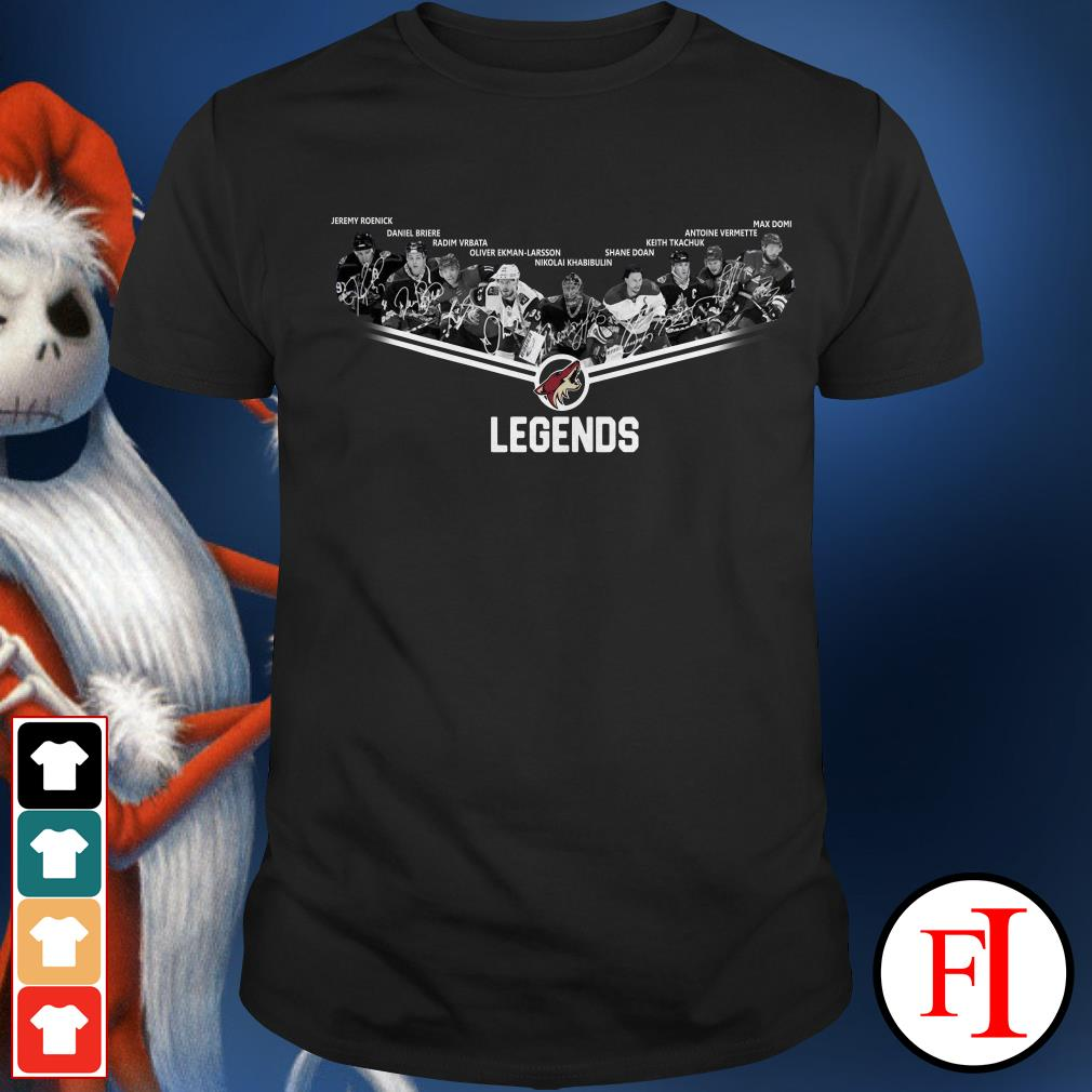Arizona Coyotes legends team players Shirt