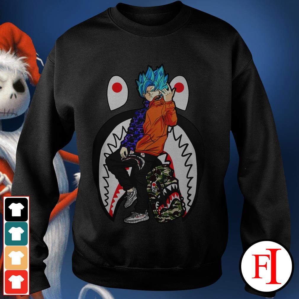 Bape Yeezy Goku street style Sweater