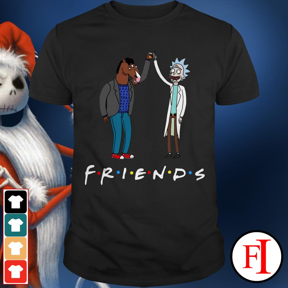 Bojack Horseman and Friends Rick Morty Shirt