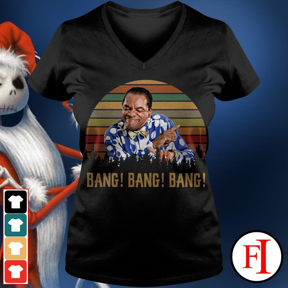 Bros Bar-B-Q Friday after next bang bang bang sunset V-neck t-shirt