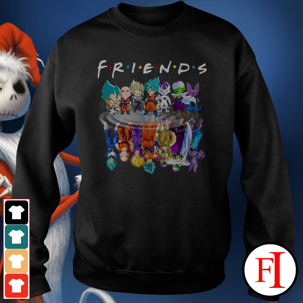 Chibi water reflection mirror Friends Dragon Ball Z Sweater