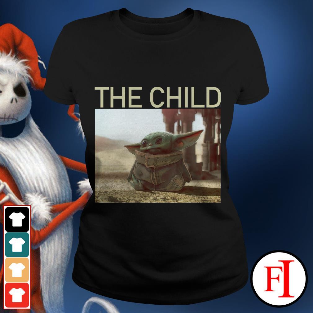 The Child The Mandalorian Baby Yoda Ladies tee