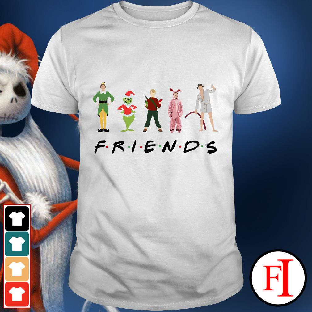 Christmas Grinch Kevin Friends Characters Elf shirt