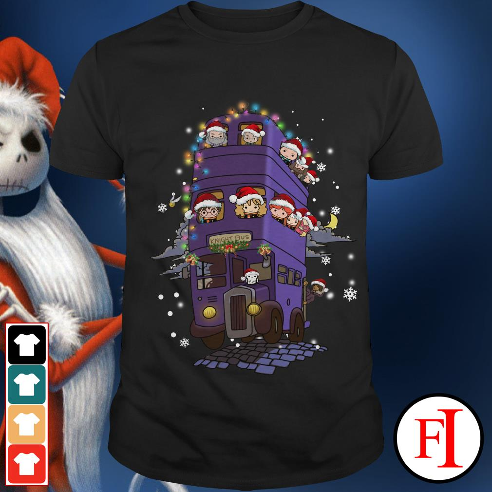 Christmas Harry Potter knight bus Shirt