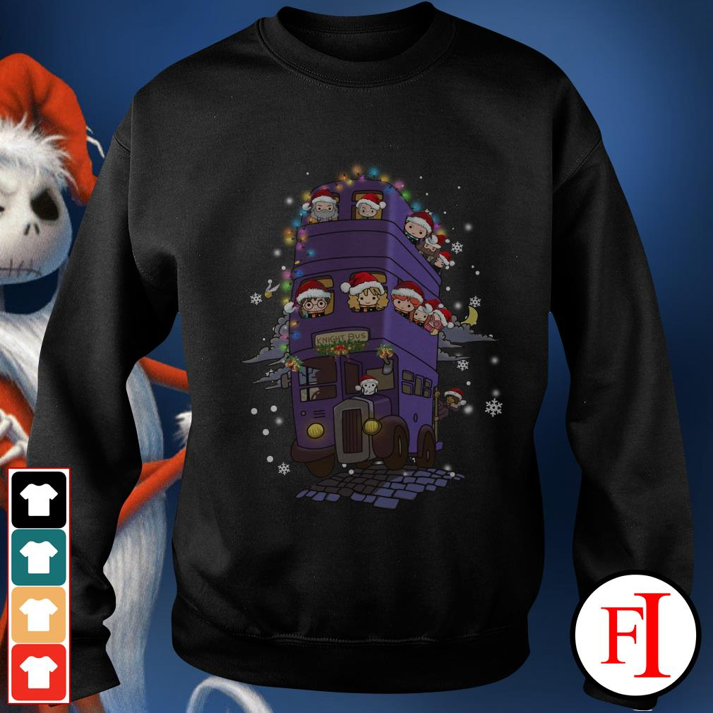 Christmas Harry Potter knight bus Sweater