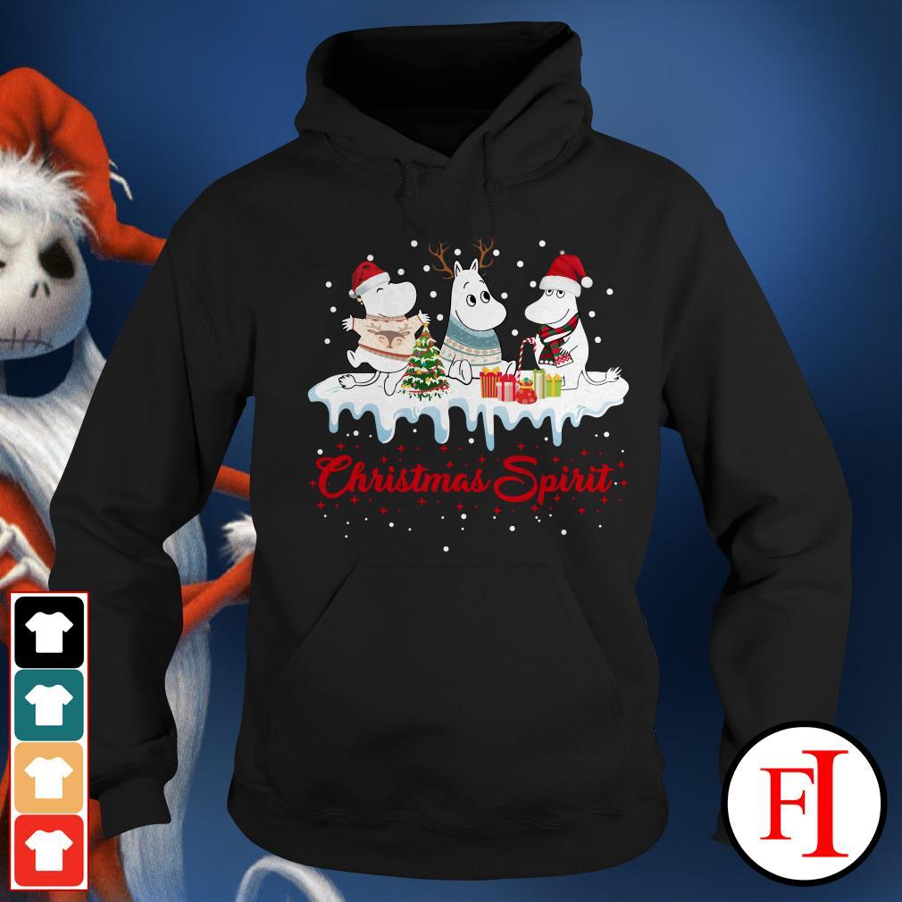 Christmas spirit Moomin Hoodie