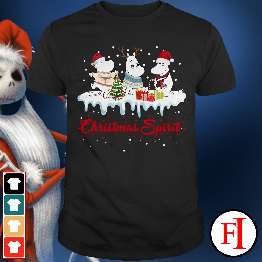 Christmas spirit Moomin Shirt