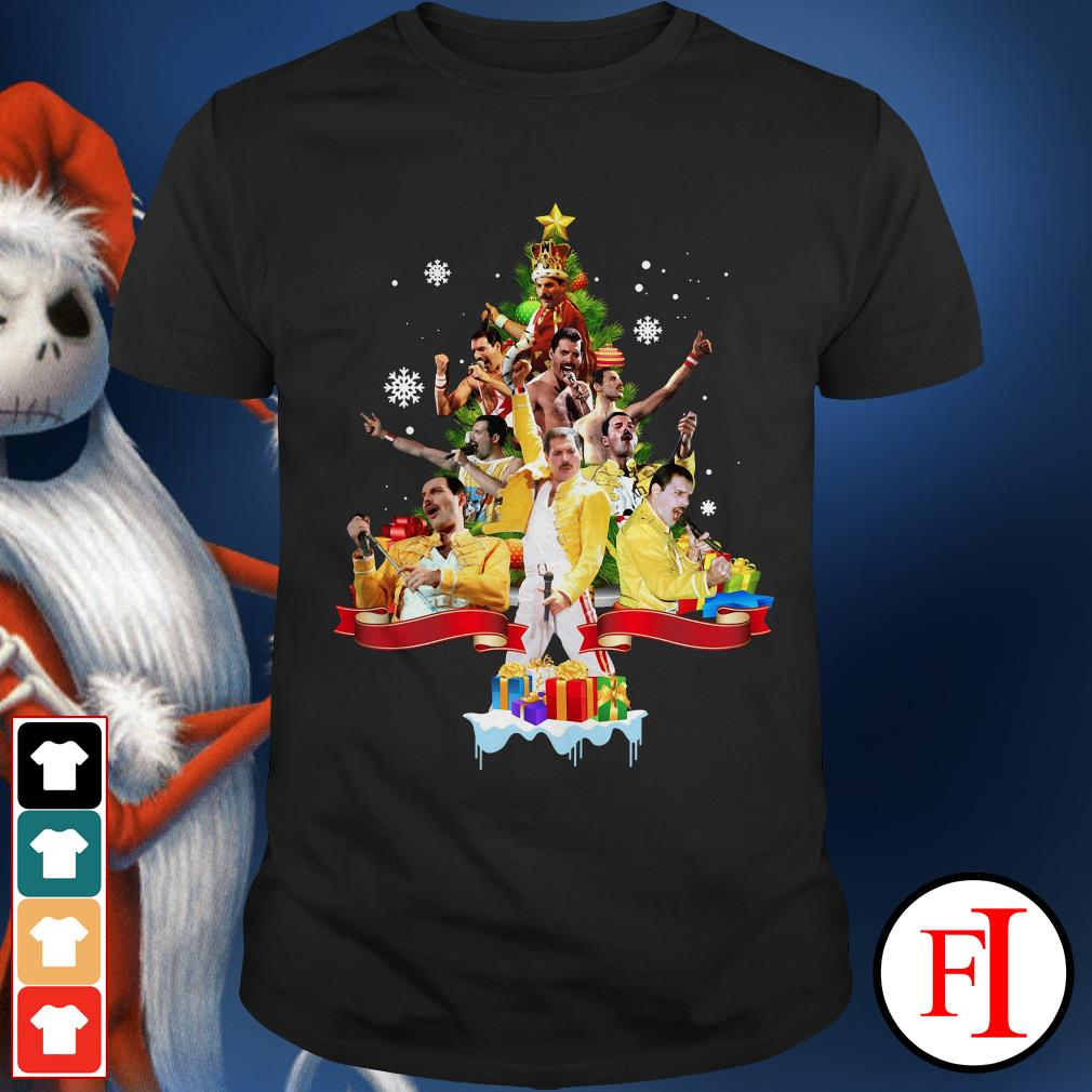 Christmas tree Freddie Mercury Shirt