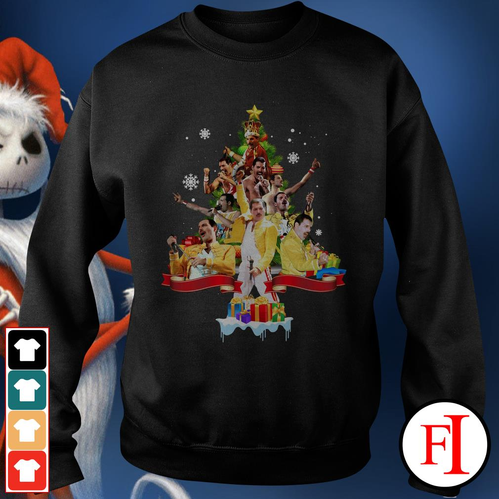 Christmas tree Freddie Mercury Sweater