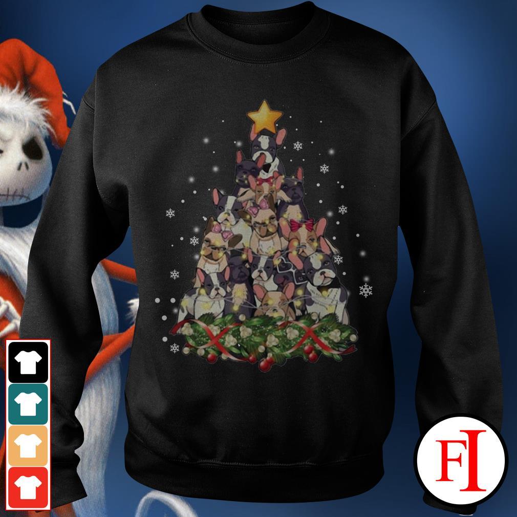 Christmas tree French Bulldog Sweater