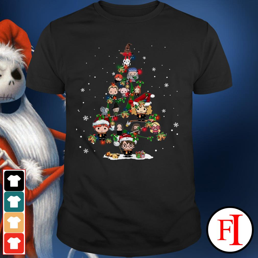 Christmas tree Harry Potter Shirt