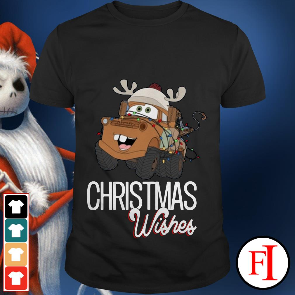 Christmas Wishes Mater Car shirt