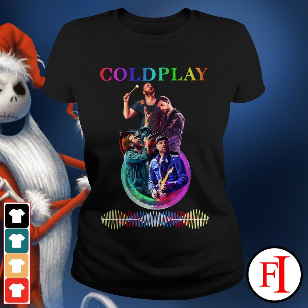 Coldplay poster Ladies Tee