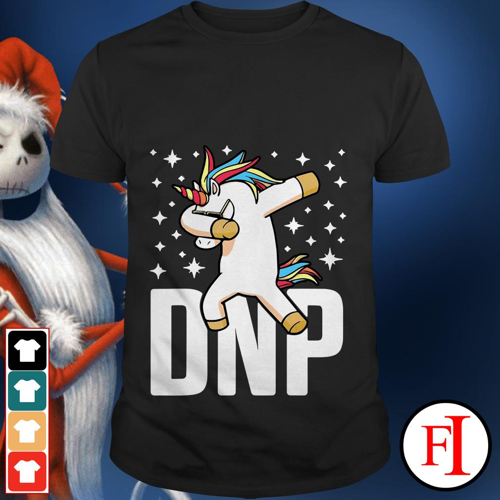 Dabbing Unicorn RN Nurse DNP Doctor of Nursing practice shirt