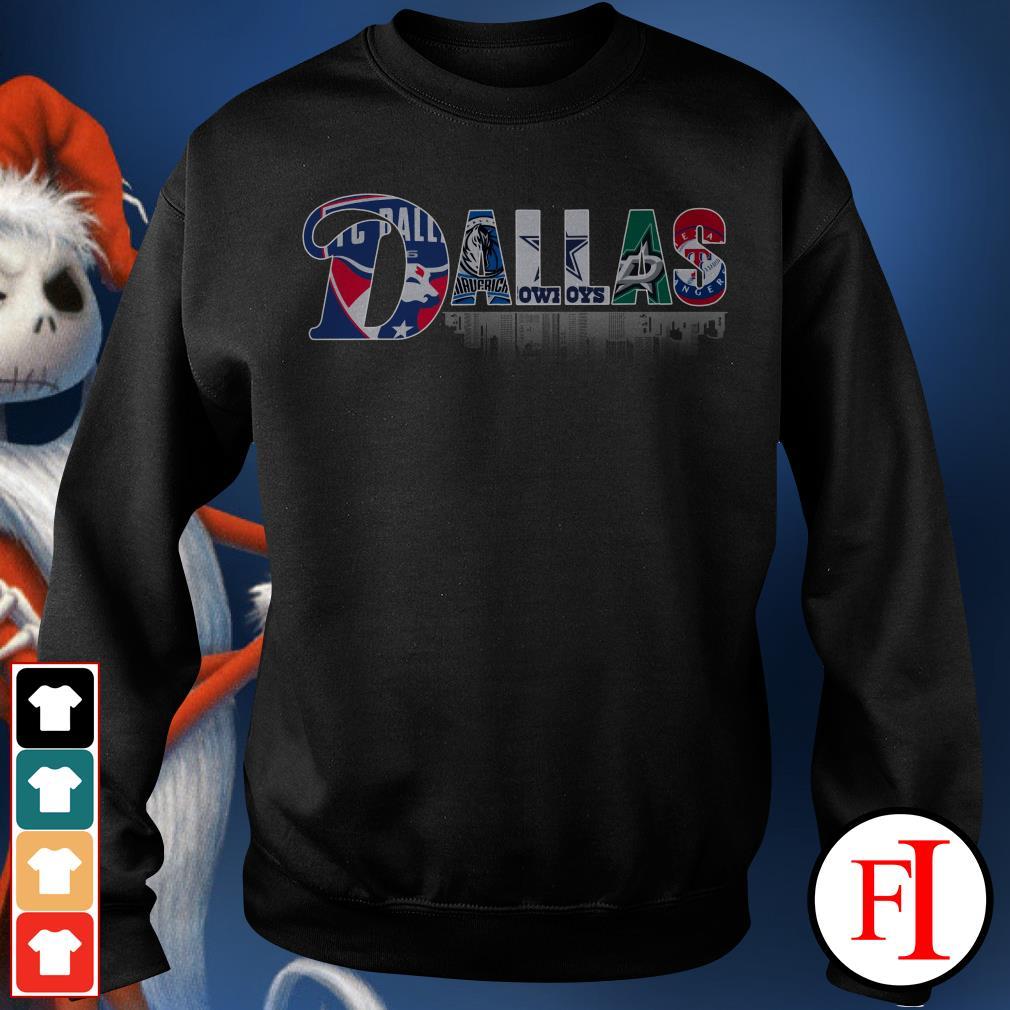 Dallas Cowboys Dallas Stars Texas Rangers DALLAS Dallas FC Dallas Mavericks Sweater