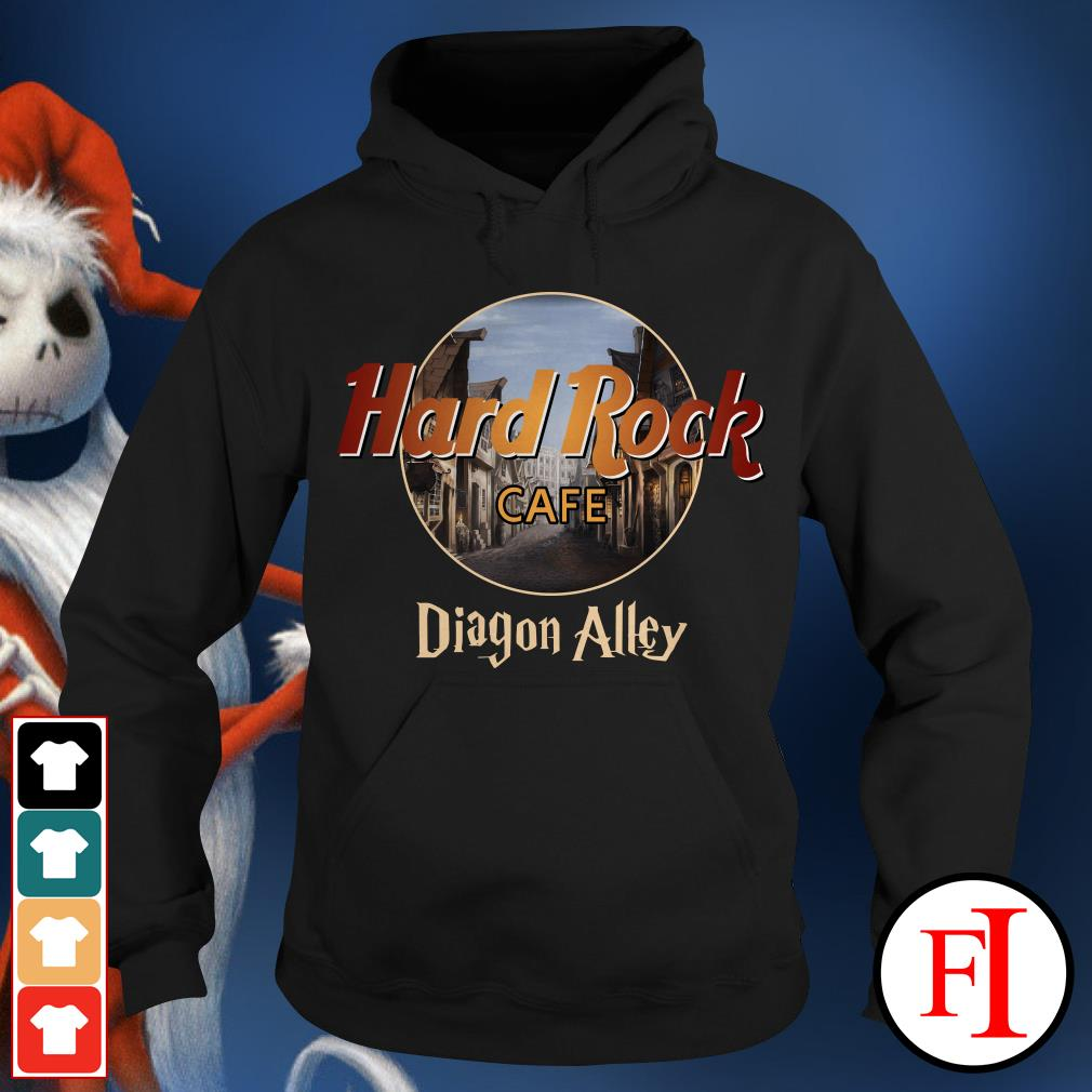 Diagon Alley Hard Rock cafe Hoodie
