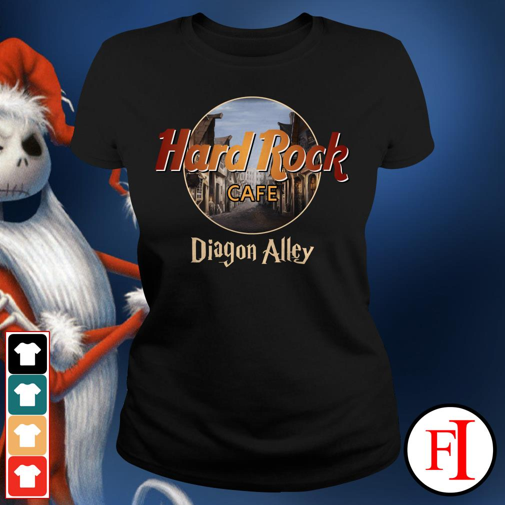 Diagon Alley Hard Rock cafe Ladies Tee
