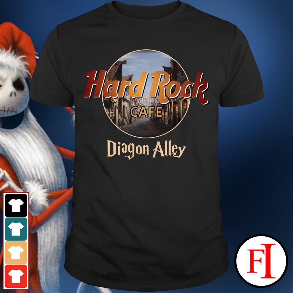 Diagon Alley Hard Rock cafe Shirt