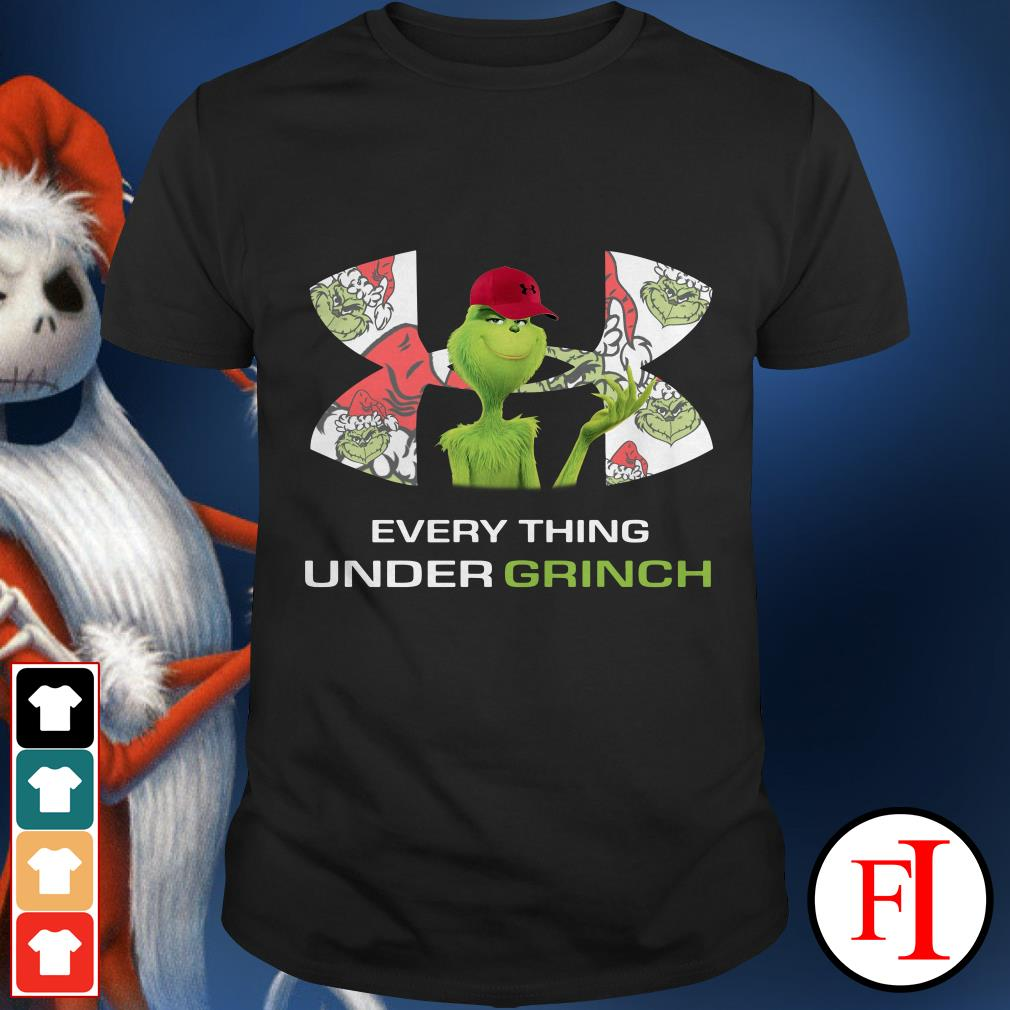 Everything Under Grinch Under Armour shirt