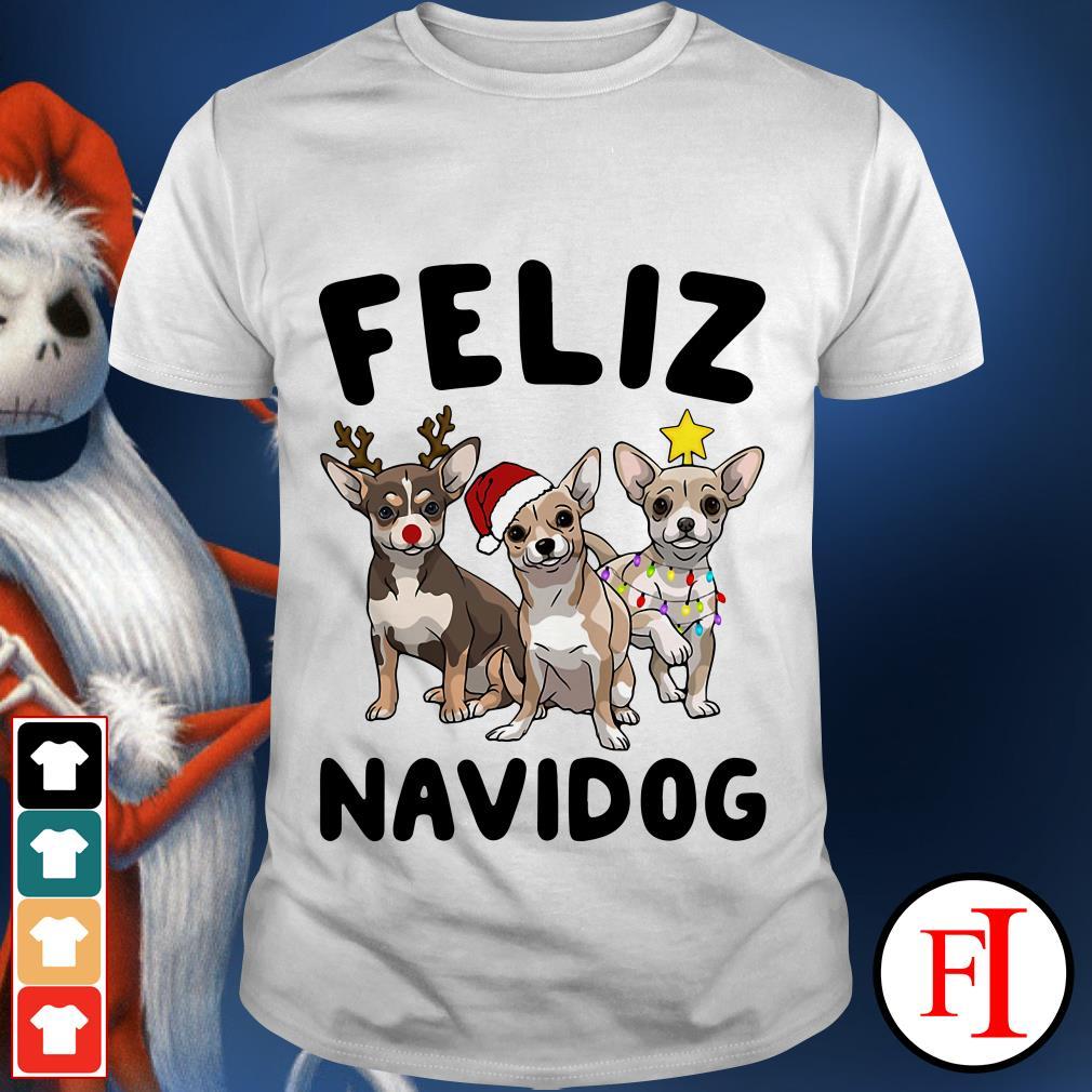 Feliz Navidog Chihuahua shirt