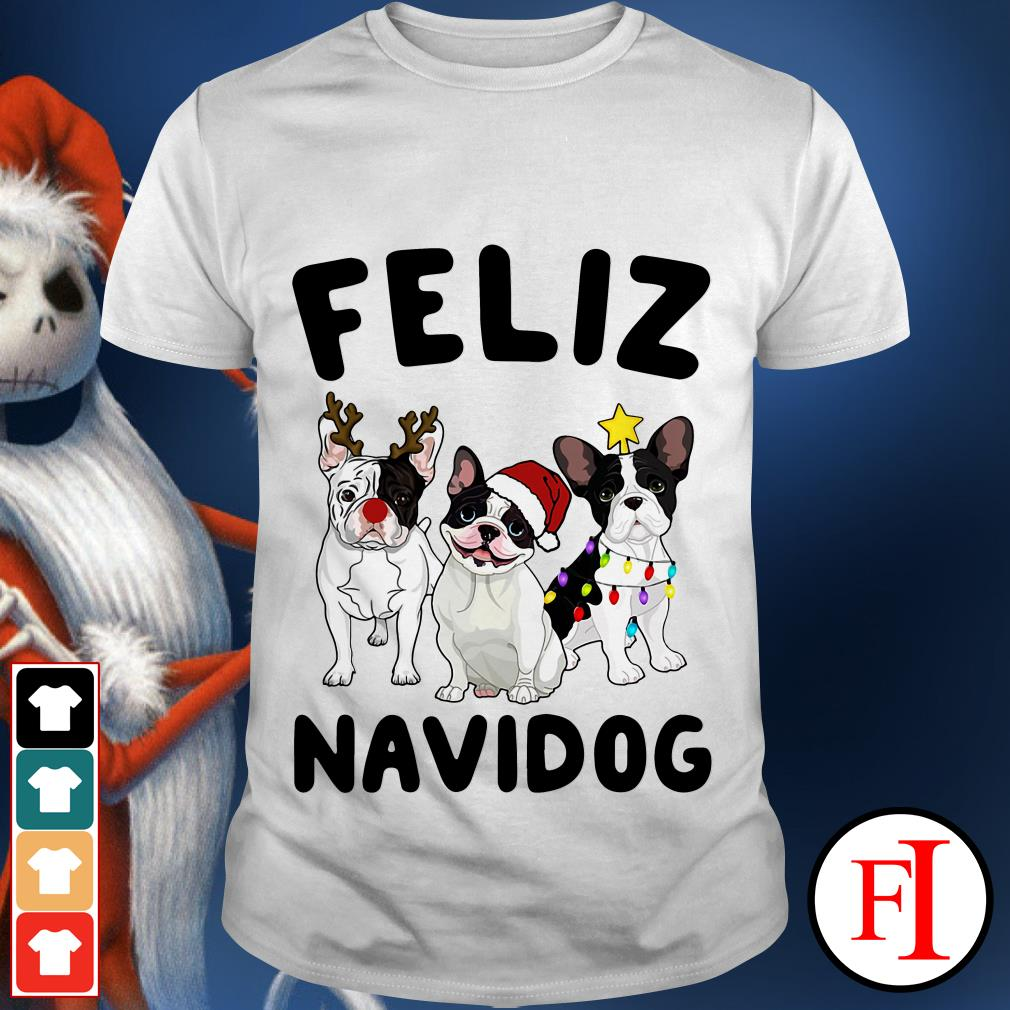 Feliz Navidog French Bulldog shirt
