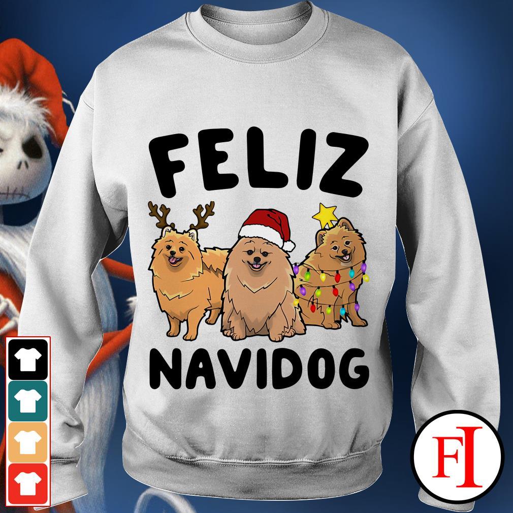Feliz Navidog Pomeranian Sweater