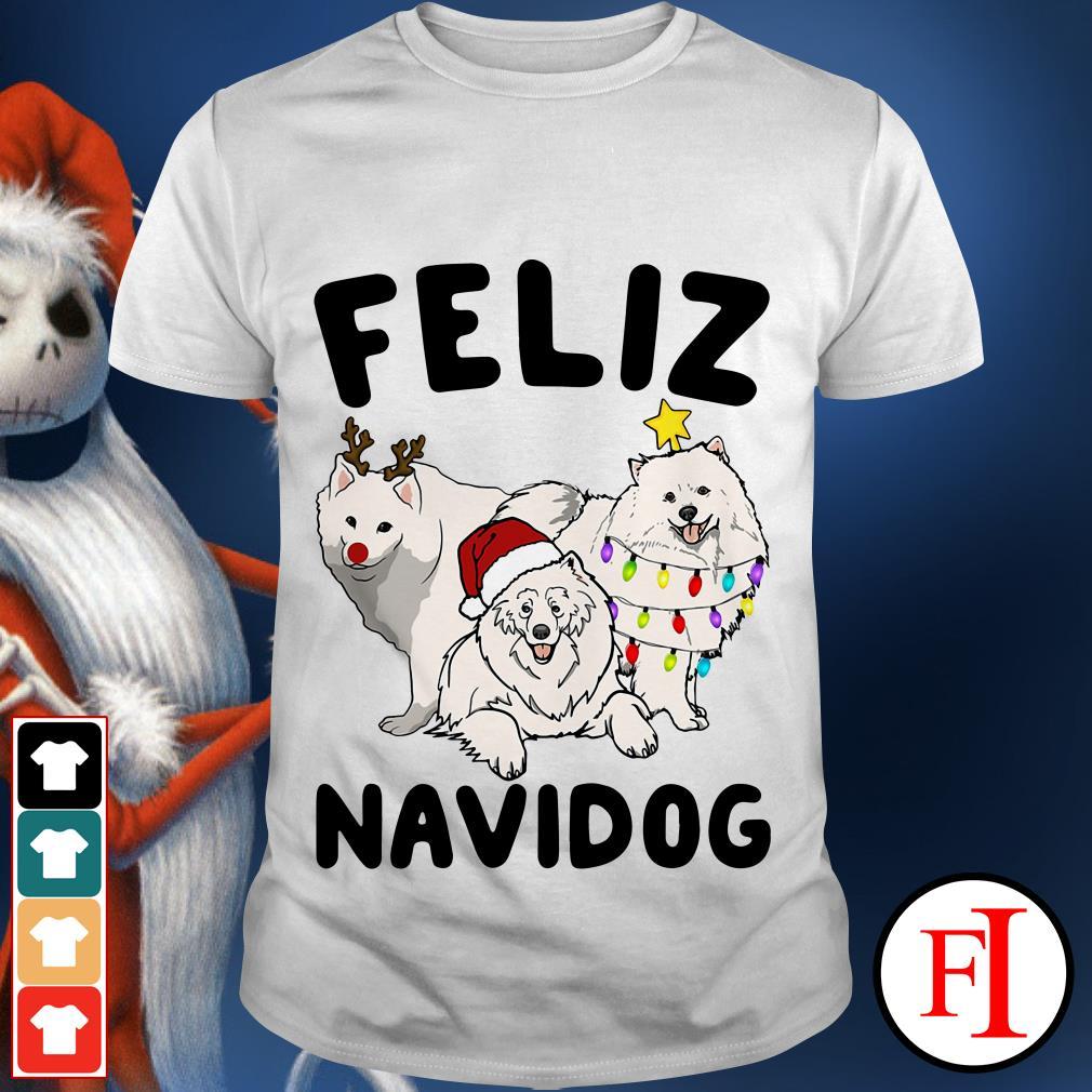 Feliz Navidog Samoyed shirt