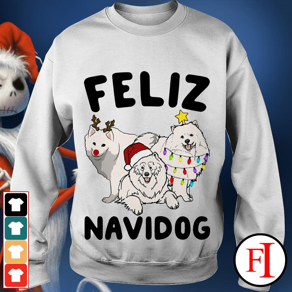 Feliz Navidog Samoyed Sweater