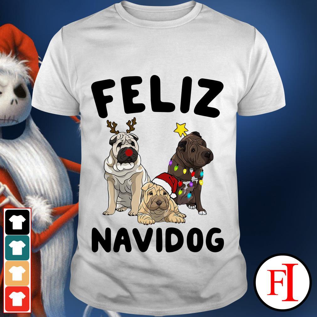 Feliz Navidog Shar Pei shirt