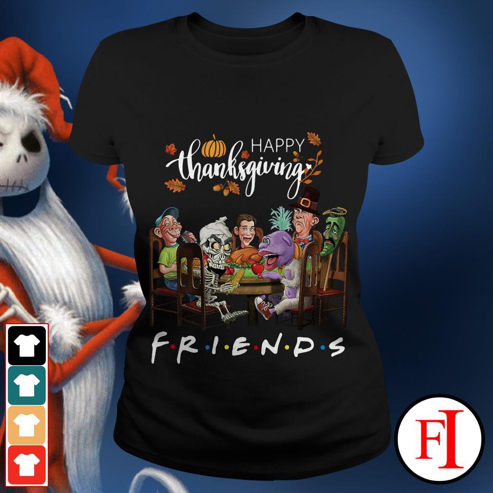 Friend TV show happy thanksgiving Ladies tee