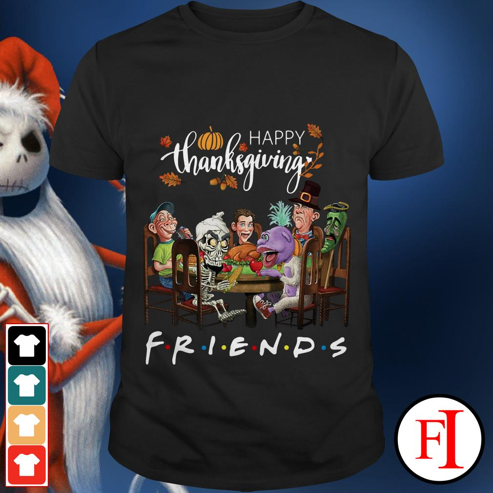 Friend TV show happy thanksgiving shirt