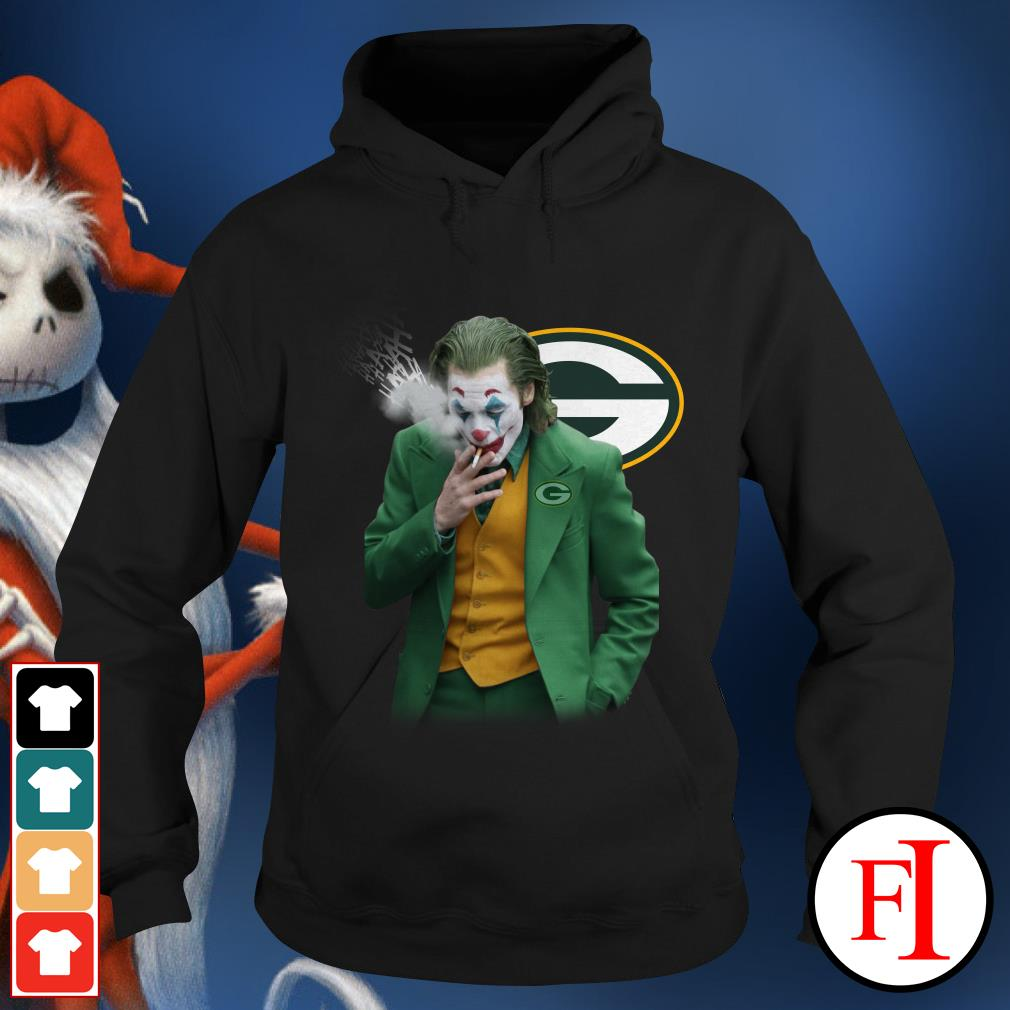 Green Bay Packers Joker Joaquin Phoenix Hoodie