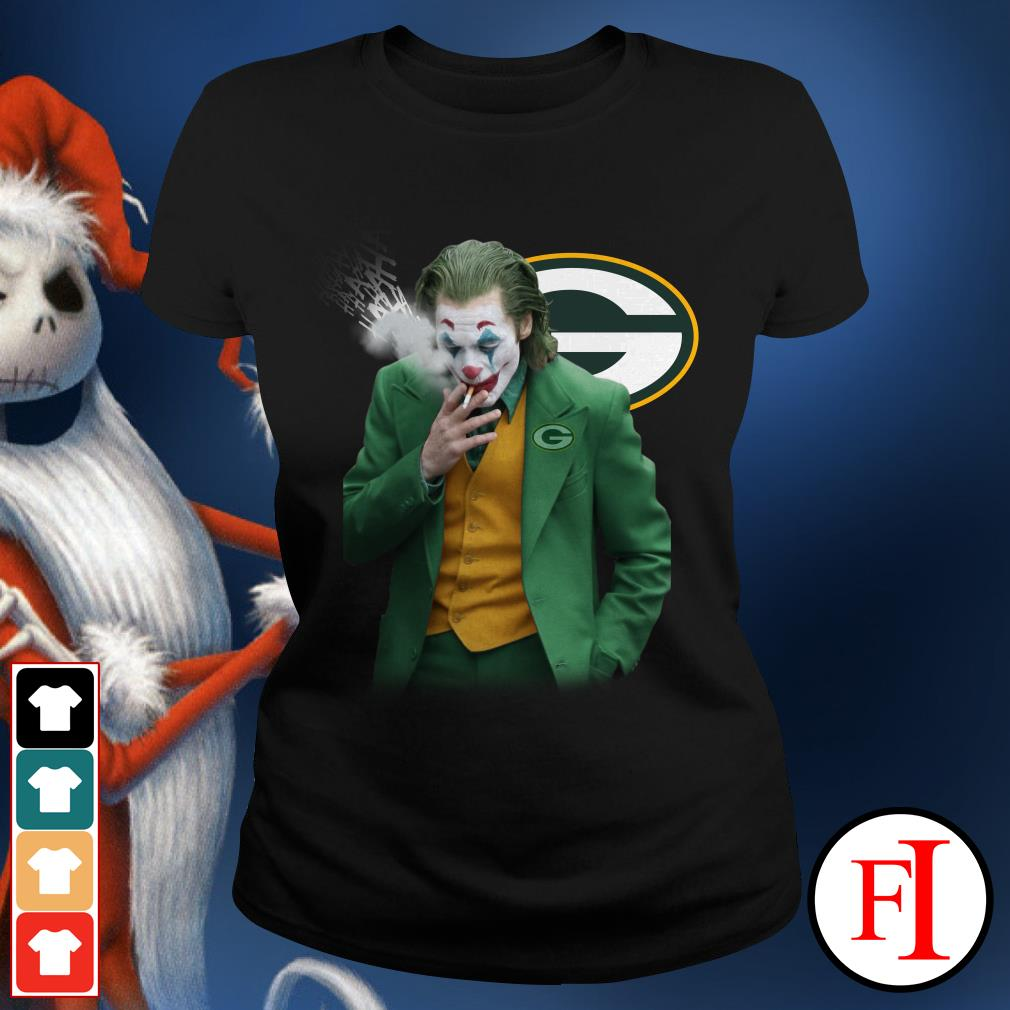 Green Bay Packers Joker Joaquin Phoenix Ladies Tee