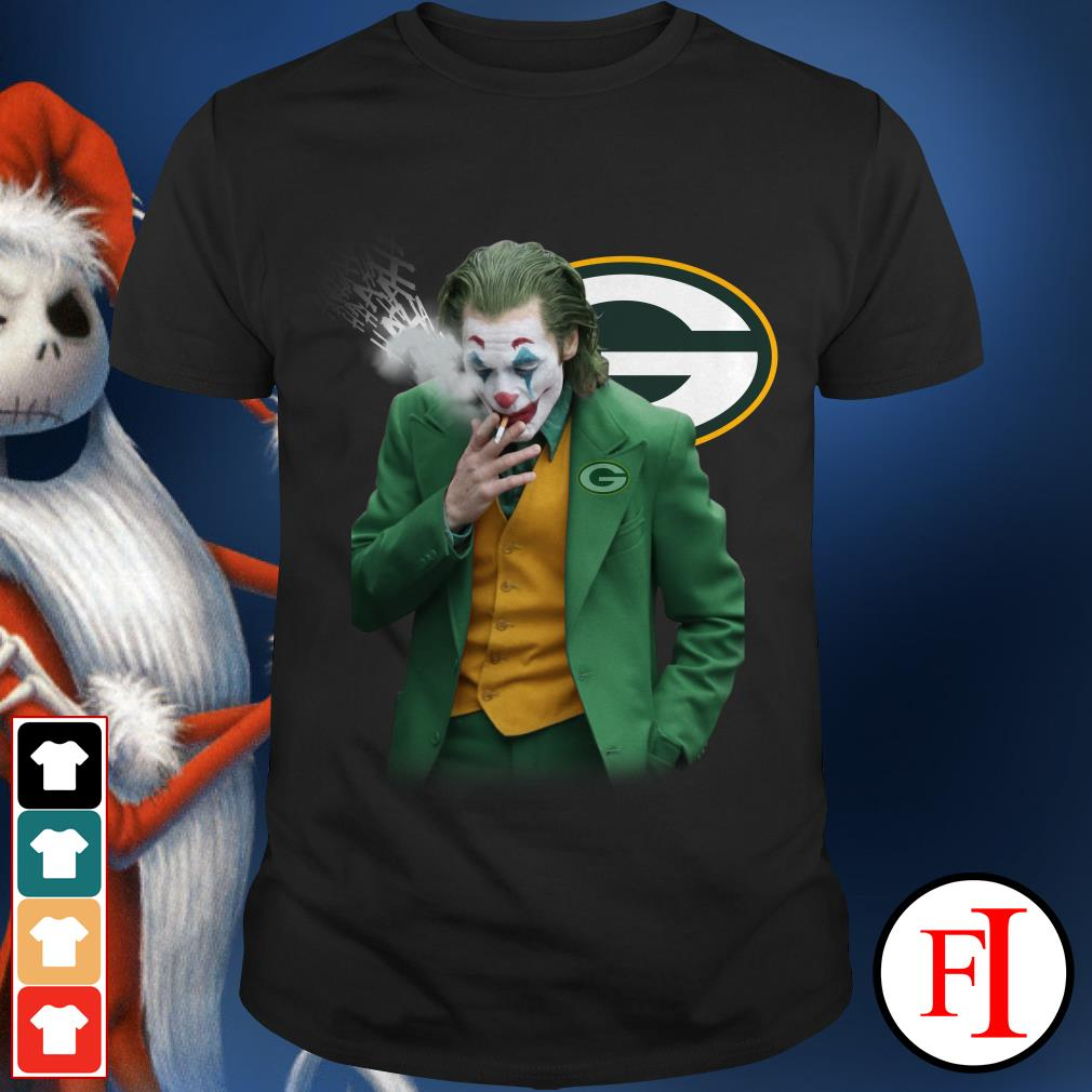 Green Bay Packers Joker Joaquin Phoenix Shirt