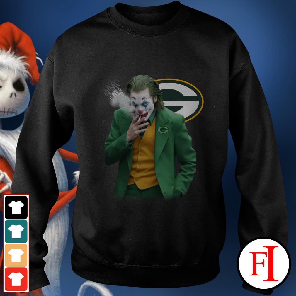 Green Bay Packers Joker Joaquin Phoenix Sweater