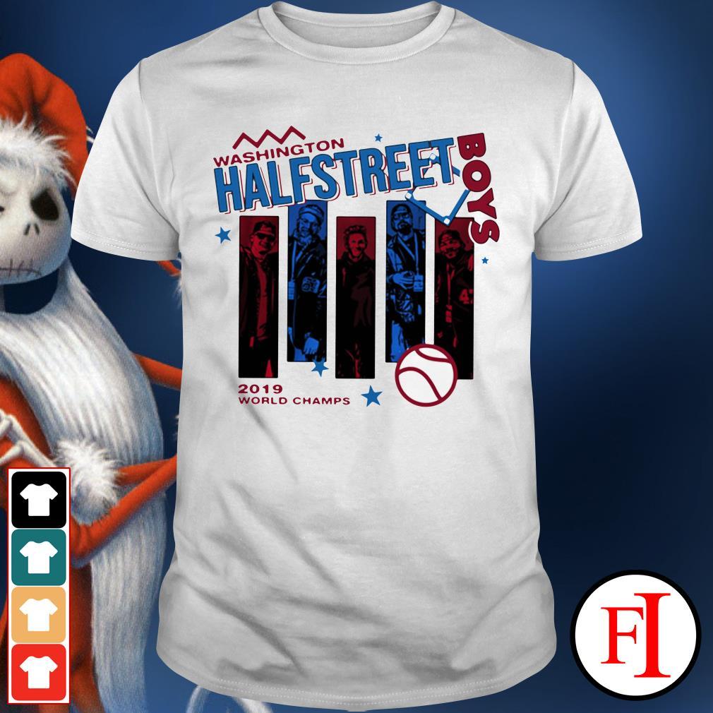 Half street boys 2019 world champs Washington Shirt