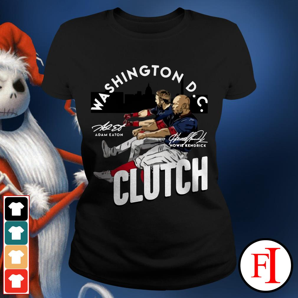Howie Kendrick Washington DC Clutch Adam Eaton Ladies Tee