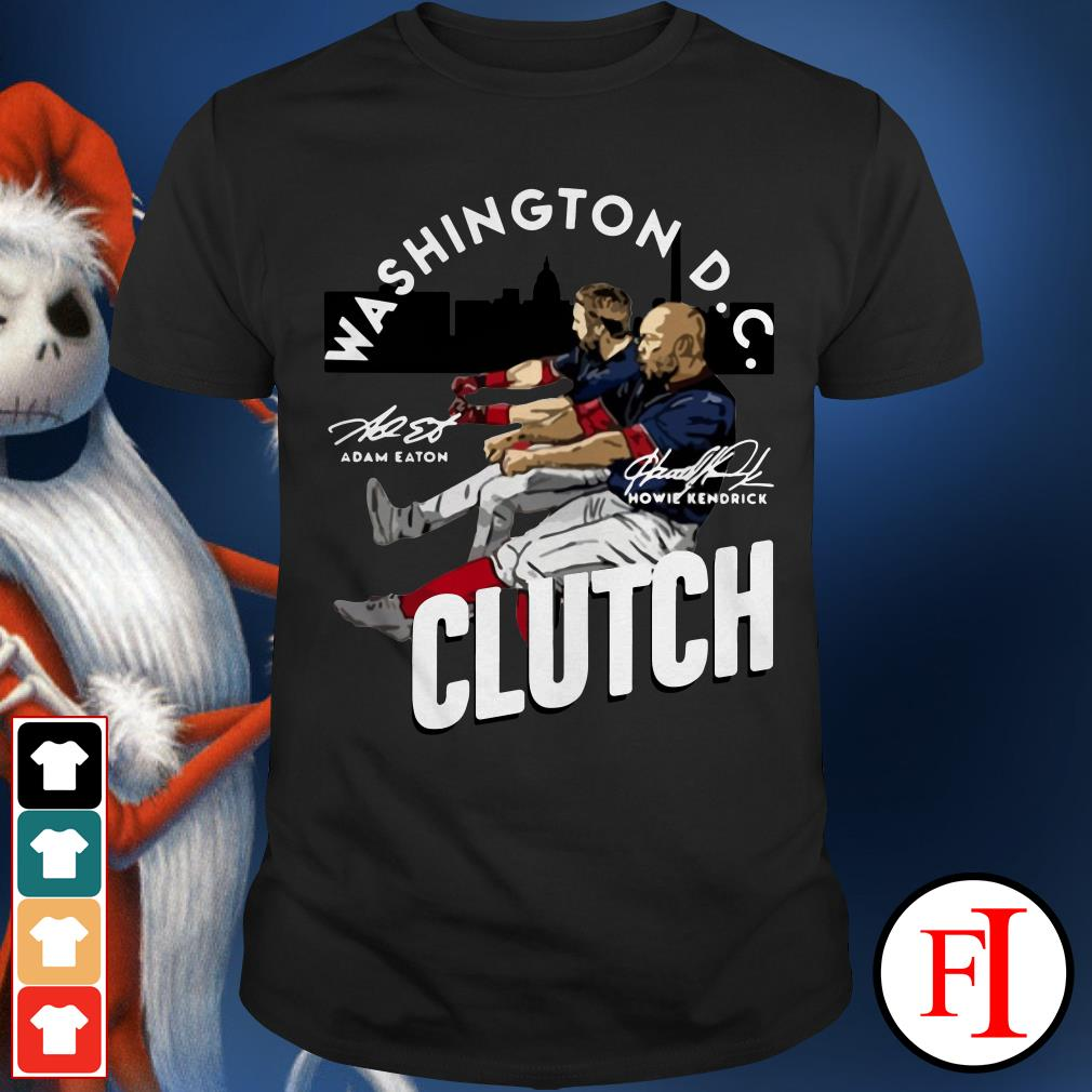 Howie Kendrick Washington DC Clutch Adam Eaton Shirt