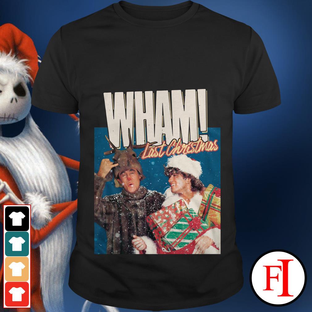 Last Christmas George Michael Wham shirt