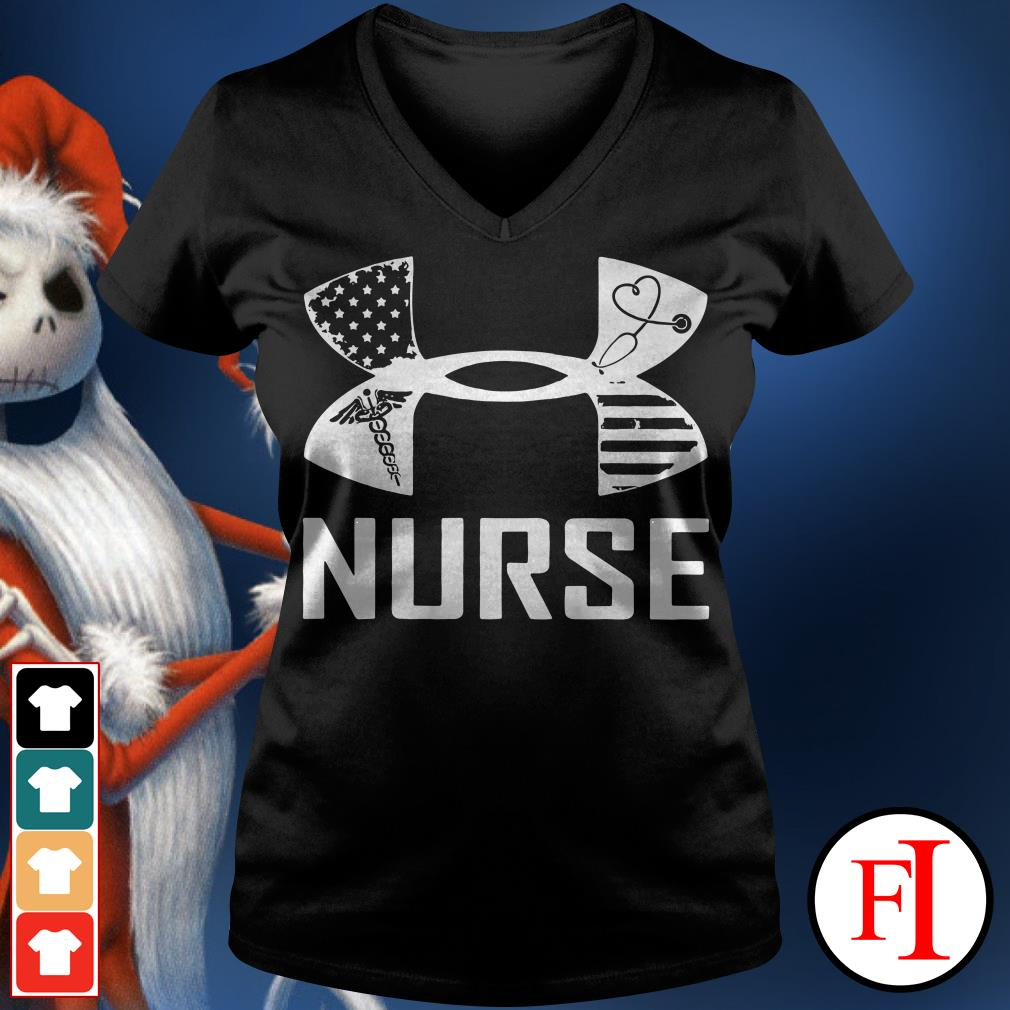 Nurse Under Armour V-neck t-shirt