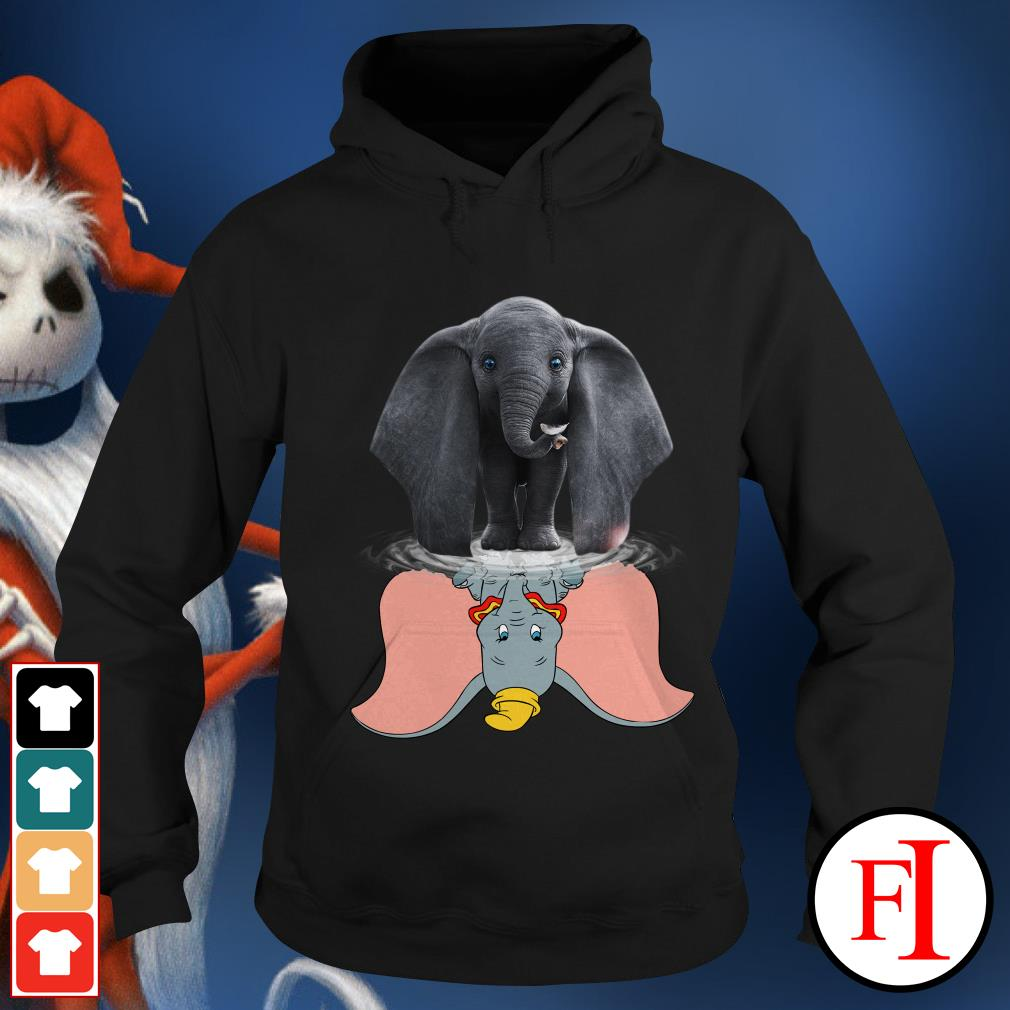Official Disney Dumbo water reflection mirror Hoodie