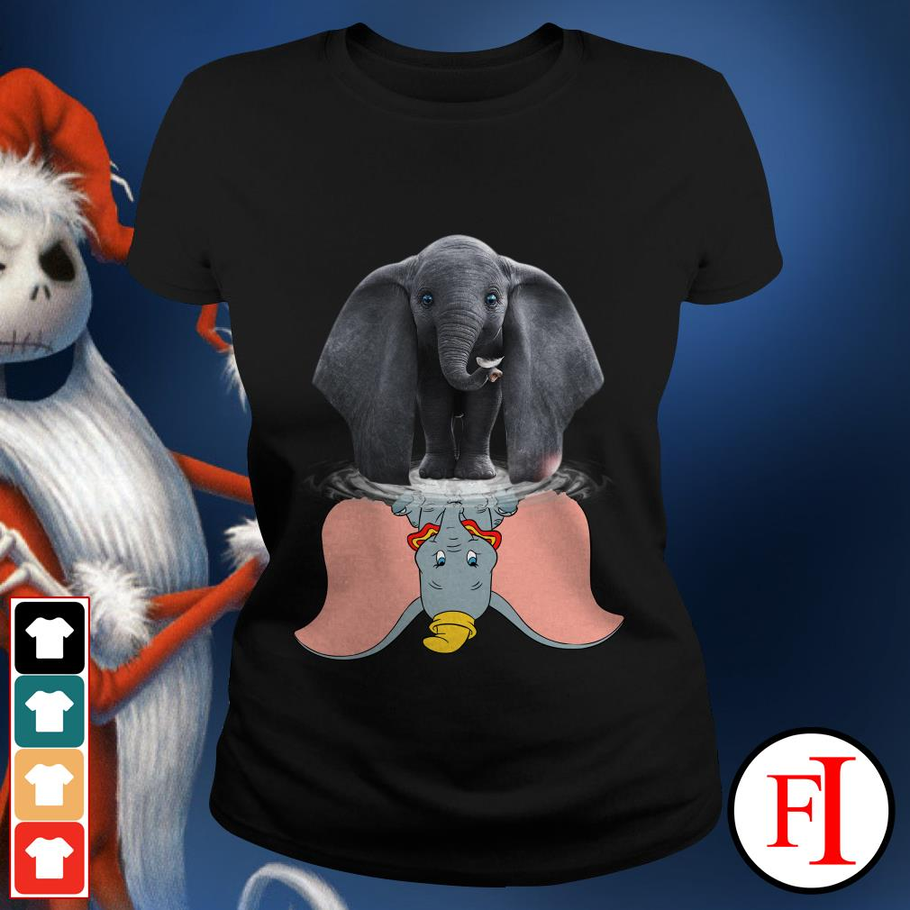 Official Disney Dumbo water reflection mirror Ladies Tee
