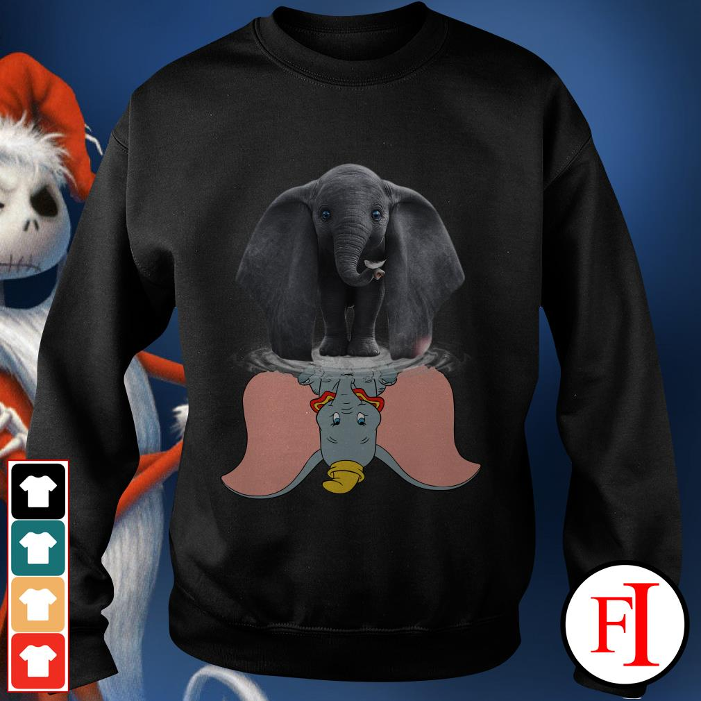 Official Disney Dumbo water reflection mirror Sweater