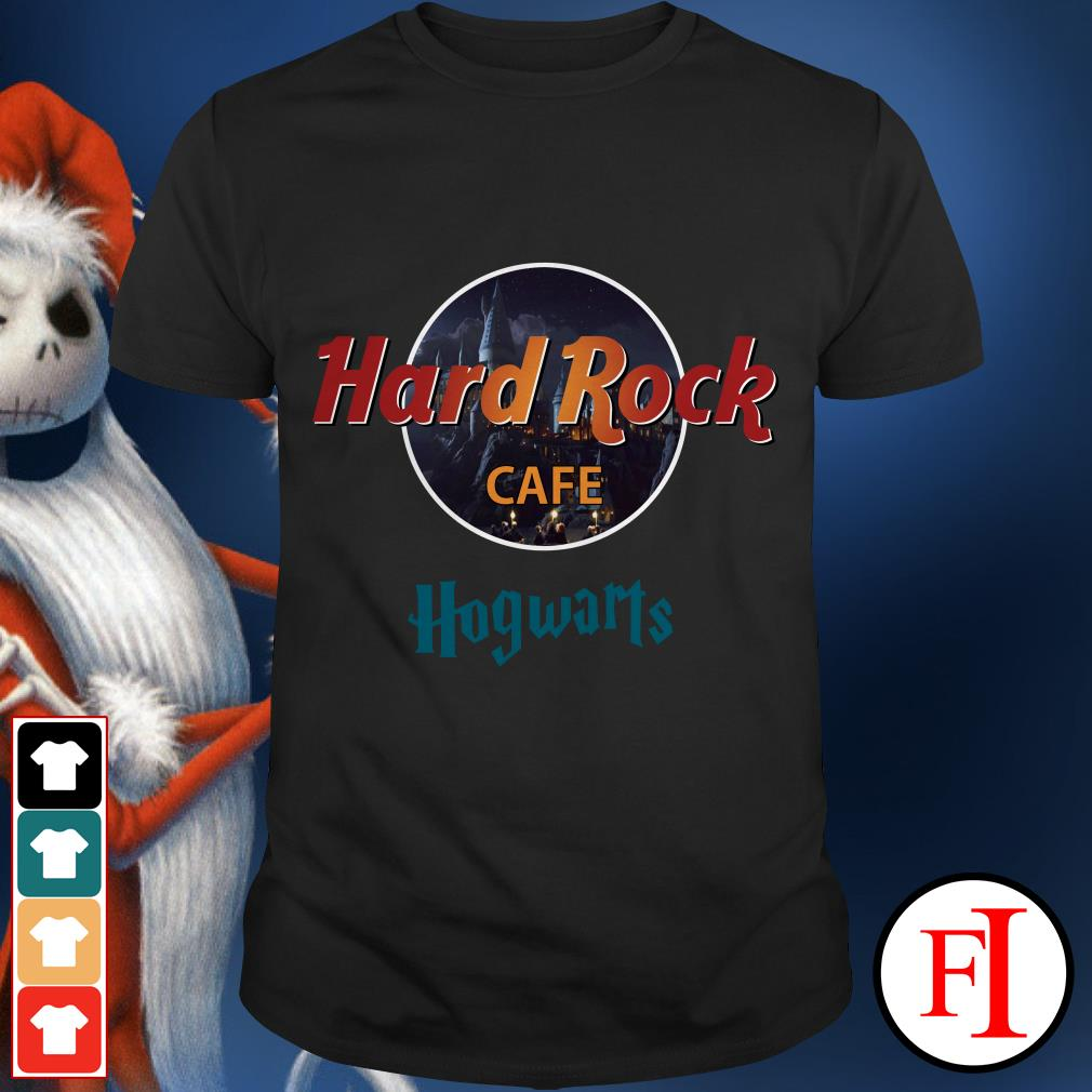 Official Hard Rock Cafe Hogwarts shirt