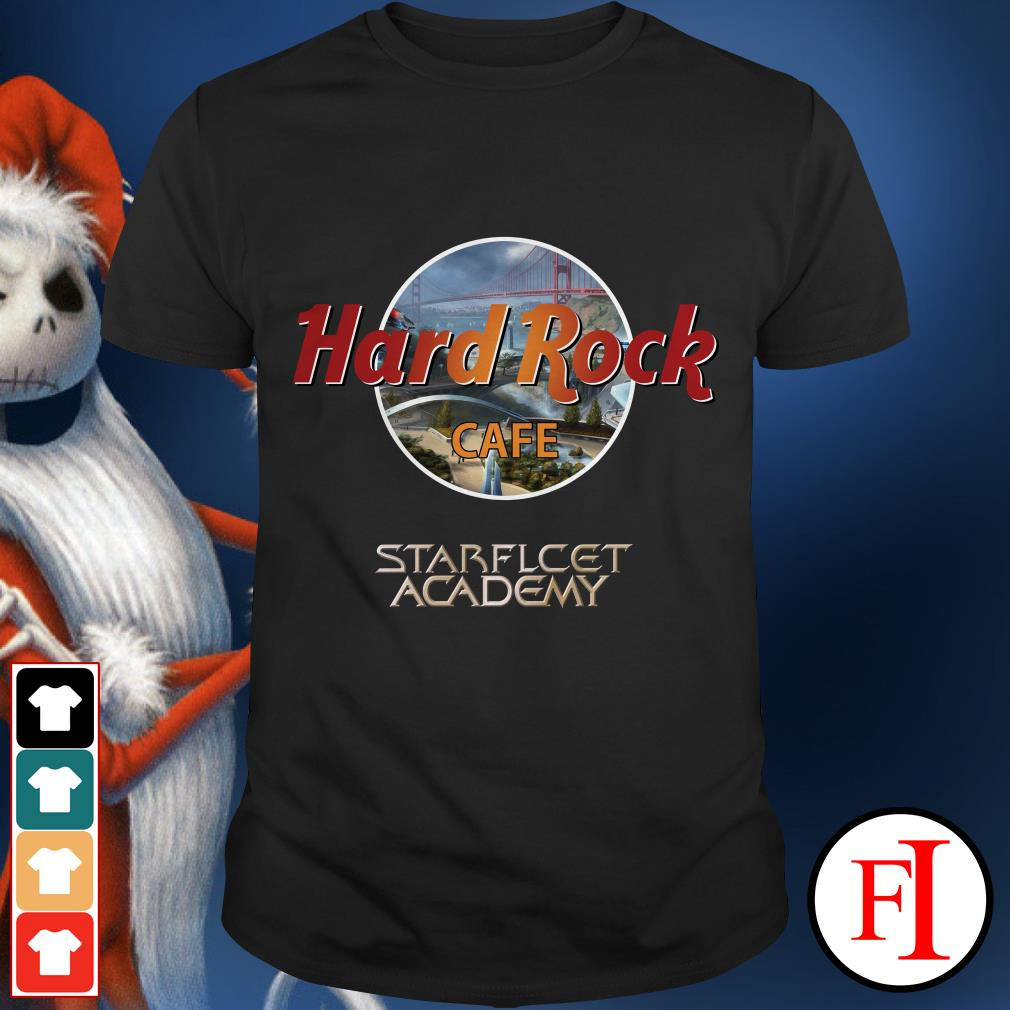 Official Hard Rock Cafe Starfleet Academy shirt