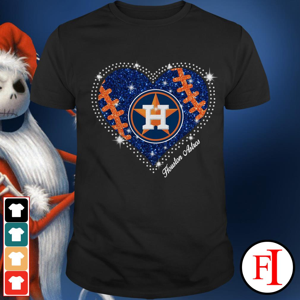 Official Houston Astros baseball heart Shirt